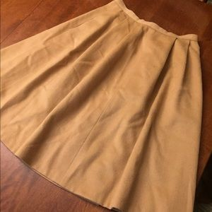 Vintage Fit and Flare Skirt